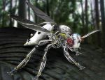 Cybergenic Wasp by AnthonyHearsey