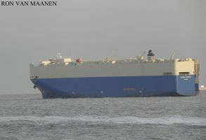 South Korean car carrier Grand Victory 2008- by roodbaard1958