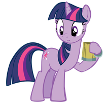 Twilight and her Cider by Somepony