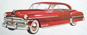 age of chrome and fins : 1950 DeSoto by Peterhoff3