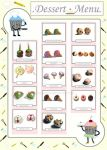 Tiny Dessert Menu by chat-noir