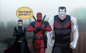 Team Deadpool by JoeMDavis