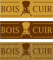 Bois et Cuir proposed logos by Zatarian