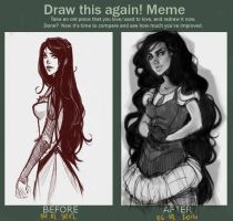 Draw this again by Blichtr
