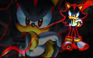 Sonic Adventure 2 Shadow Wallpaper by SonicTheHedgehogBG