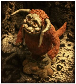 OOAK Ludo Sculpture by MissNioniel