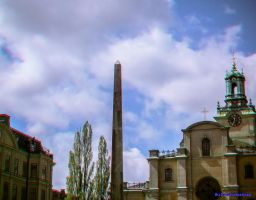 Obelisc Stockholm Anaglyph by passionofagoddess