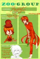 ZooGroup - Hayato the red octopus by redoluna