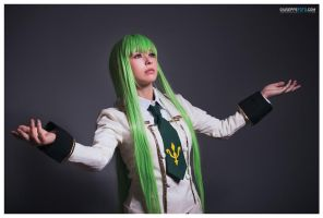 C.C - Code Geass: the witch by DidsRainfall