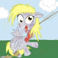 Derpy's Little Death by Westernciv