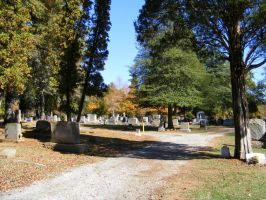Autumn Cemetery 22 by DKD-Stock