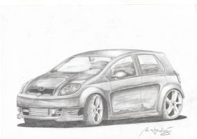Toyota Yaris by Mipo-Design