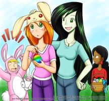 KP: Easter '07 by rinacat