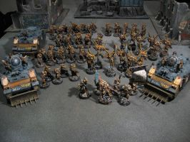 Sisters of battle army by Kovski