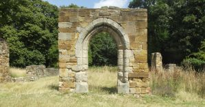 Stock Priory Arch Doorway by graphic-rusty