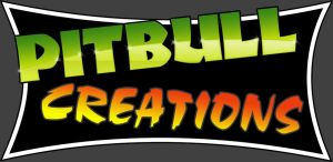 Pitbull Creations logo by flame-design