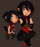 Varras and lily by empiredog