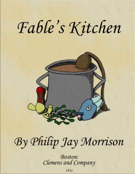 Fable's Kitchen Book Cover by Defamir