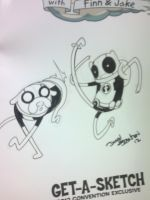 ADVENTURE TIME SKETCH COVER 3 by DrummerboyDomo