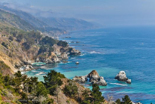 Big Sur Coastline 3930b by TKBeam