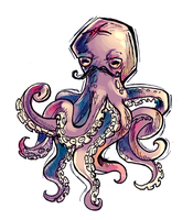 Octopus by AngieMyst