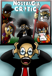 Contest Entry for Nostalgia Critic DVD Cover by tellywebtoons