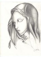The virgin mary by RedEyedJed1