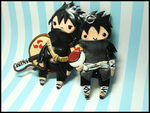 Madara + Izuna by GrandmaThunderpants