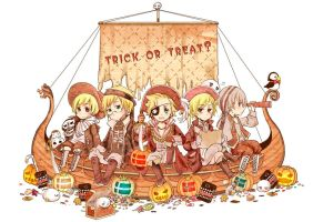 trick or treat by inpninqni