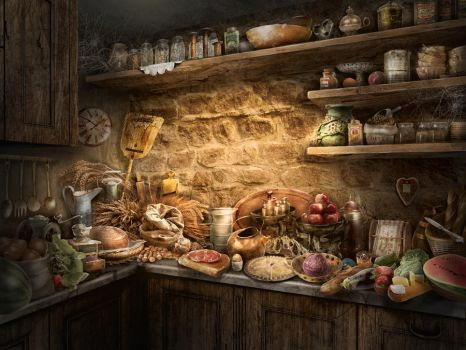 kitchen by olga-idealist