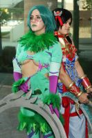 Tira and Talim from SC3 by MadcatDrannon