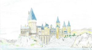 Hogwarts by LS-Arts