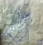 Sketch on a Beef Patty Bag 2 by deadlymike