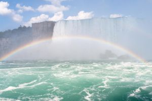 Rainbow and the Falls by fxstream