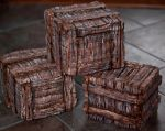 Small Shipping Crates by QuinapalusTheFool