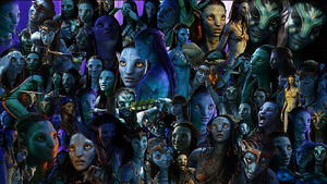 Neytiri UberCollage by HarrisonOdell
