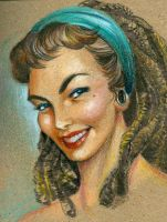 Modernized Gil Elvgren by brainleakage