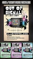 Colorful Club-Party Flyer Template by Hotpindesigns