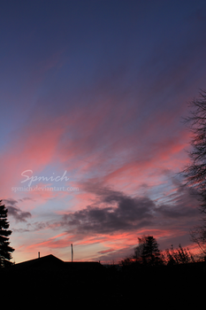 Afternoon sky by spmich
