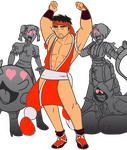 Ryu is now 10% Sexier by MichaelJLarson