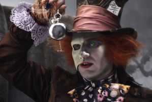 The Phantom Mad Hatter by DarthxErik