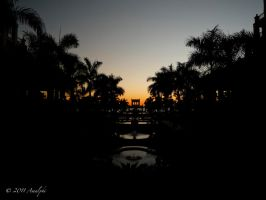 Mexican Sunset by Amalphi