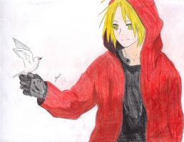 Edward Elric by DarkMagician1611