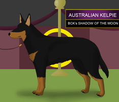 Kelpie takes over Wesminster by Alcemistnv