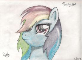 Rainbow Dash Haz Swagg by I-TwistedFury-I
