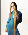 Alexis Dziena Colorize by paranoid25