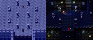 Before and After RPG Maker Parallax Map by KenKrath