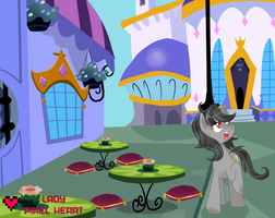 Pencil Scratch in Canterlot by ladypixelheart