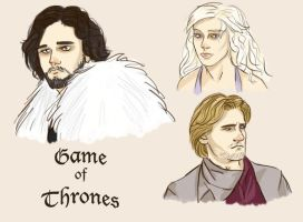 Game of Thrones doodles by the-foolish-princess