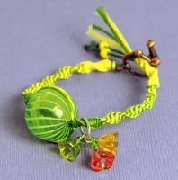 Lemonade Bracelet by Pikithins